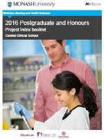 2016 CCS Honours index booklet