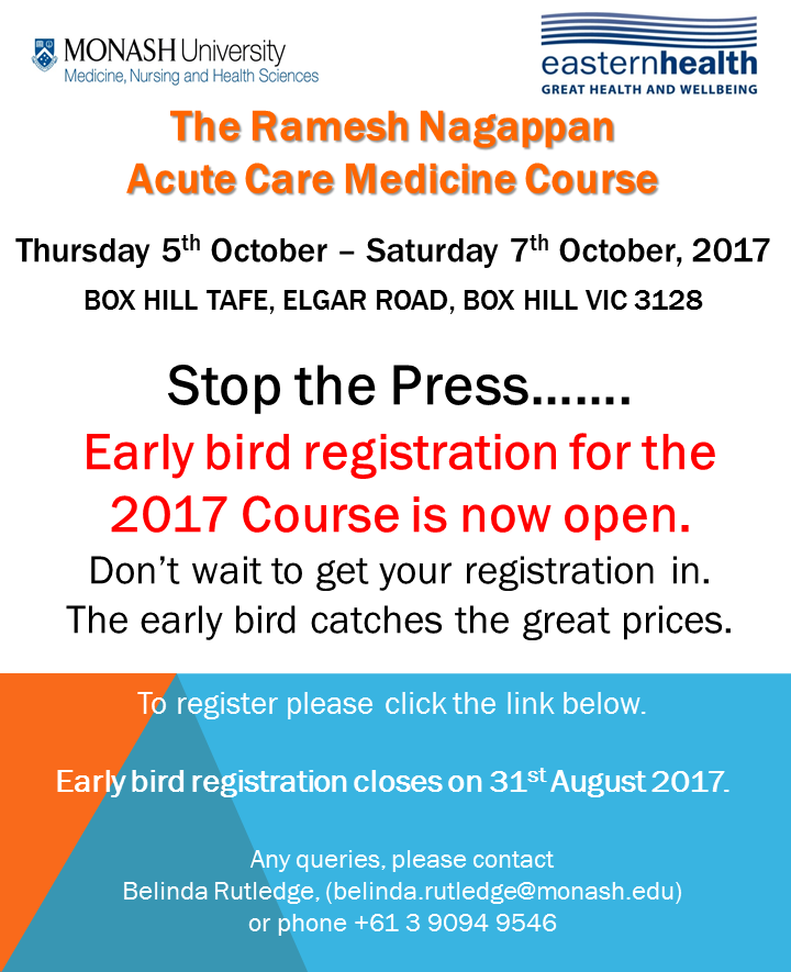 ACM 2017 Early bird registration