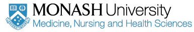 Monash University, Medicine, Nursing and Health Sciences