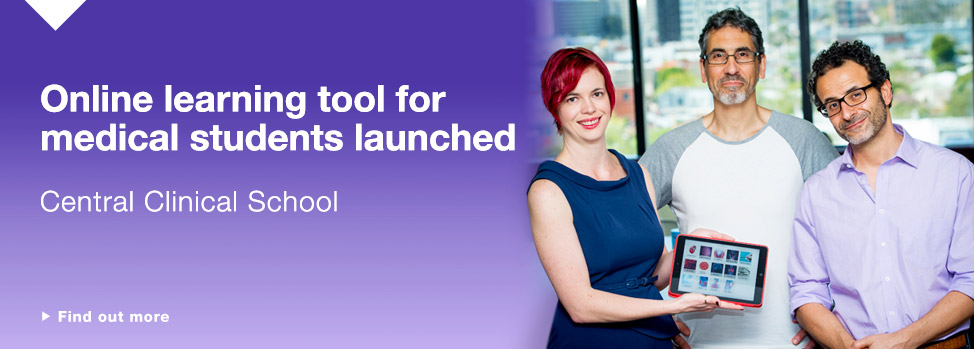 Central Clinical School online learning tools http://www.med.monash.edu.au/cecs/education/umed/axm.html