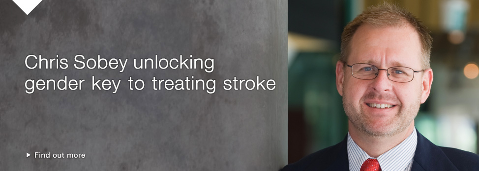 scientists-unlock-gender-key-to-treating-stroke Find out more, http://monash.edu/news/show/scientists-unlock-gender-key-to-treating-stroke