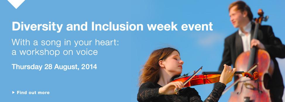 Social Inclusion http://www.med.monash.edu.au/social-inclusion/diversity-and-inclusion-week-2014.html