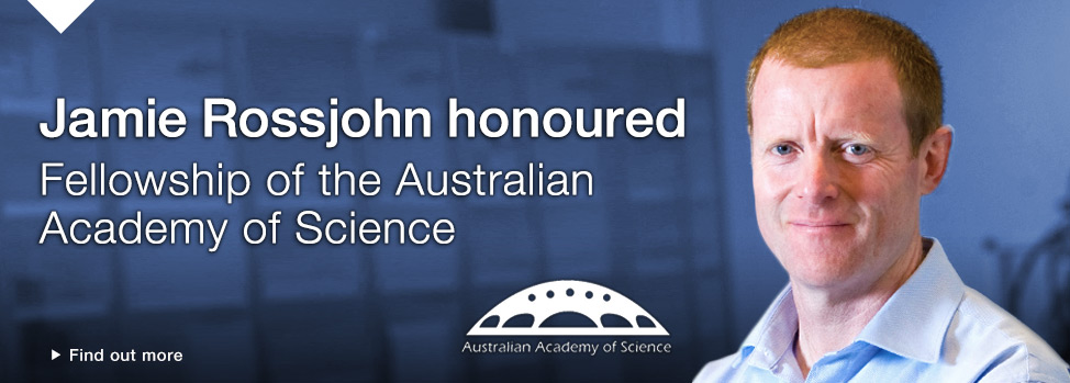 Australian Academy of Science welcomes two Monash Fellows Find out more, http://www.med.monash.edu/news/2014/aas-welcomes-two-monash-fellows.html