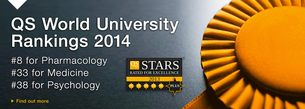 QS World University Rankings 2014. Find out more, http://www.med.monash.edu.au/prospective/
