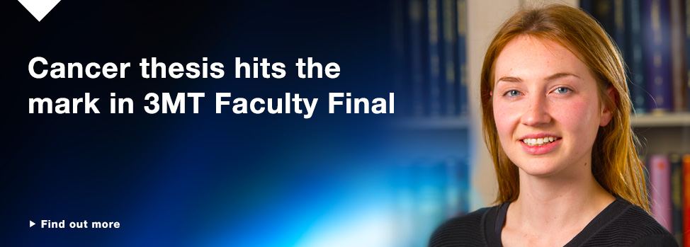 Researchers race the clock to represent Faculty at 3MT Finals http://www.med.monash.edu.au/news/2015/3-min-thesis-finals.html