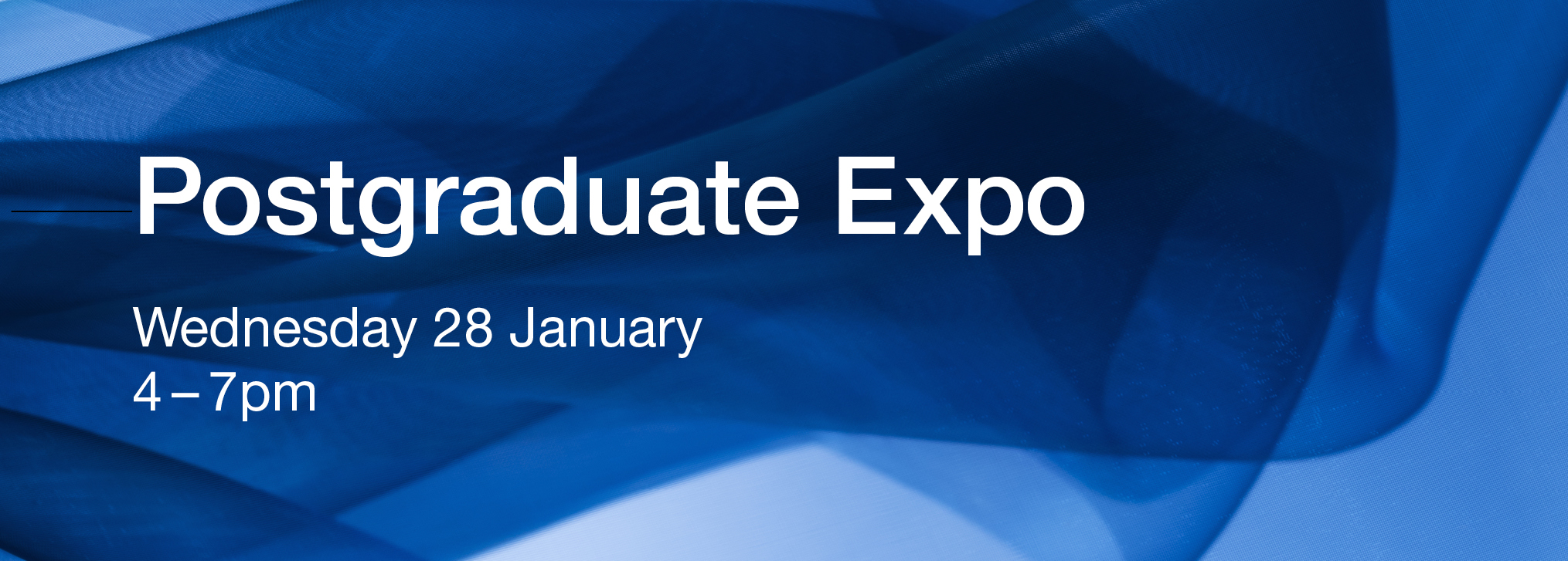 Postgrad Expo http://monash.edu/postgraduate-events/expo/?utm_source=medicine&utm_medium=carousel&utm_content=homepage&utm_campaign=pg_expo_2015