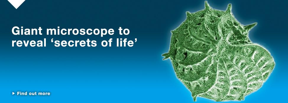 Giant microscope to unveil secrets of life http://www.med.monash.edu.au/news/2015/giant-microscope-unveil-secrets-of-life.html