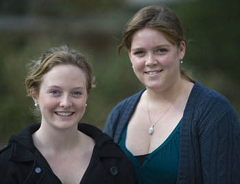 Elizabeth Buchholz and Johanna Kelly