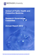 SPHPM Research Governance Committee Annual Report 2013