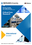 Critical Care Research